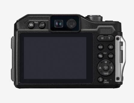 パナソニックEVF付の防水・耐衝撃のタフネスカメラ「LUMIX FT7」