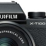 富士フイルム「X-T100」のリーク画像と価格情報。