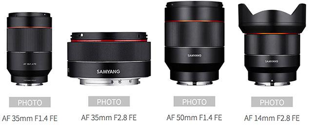 SAMYANGが新しいオートフォーカスのフルサイズEマウント用レンズを発表する!?