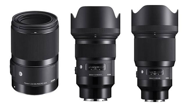 シグマが「70mm F2.8 DG MACRO | Art」とEマウント用「50mm F1.4 DG HSM | Art」&「85mm F1.4 DG HSM | Art」の発売日と価格を発表。
