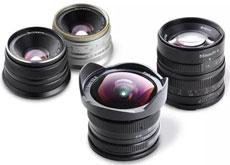 七工匠ミラーレス用交換レンズ「7artisans 7.5mm F2.8 Fish-eye」「7artisans 25mm F1.8」「7artisans 55mm F1.4」