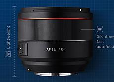 AF 85mm F1.4 EF