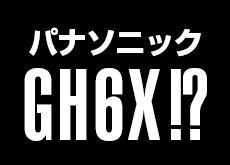 パナソニック GH6V、GH6、GH6X