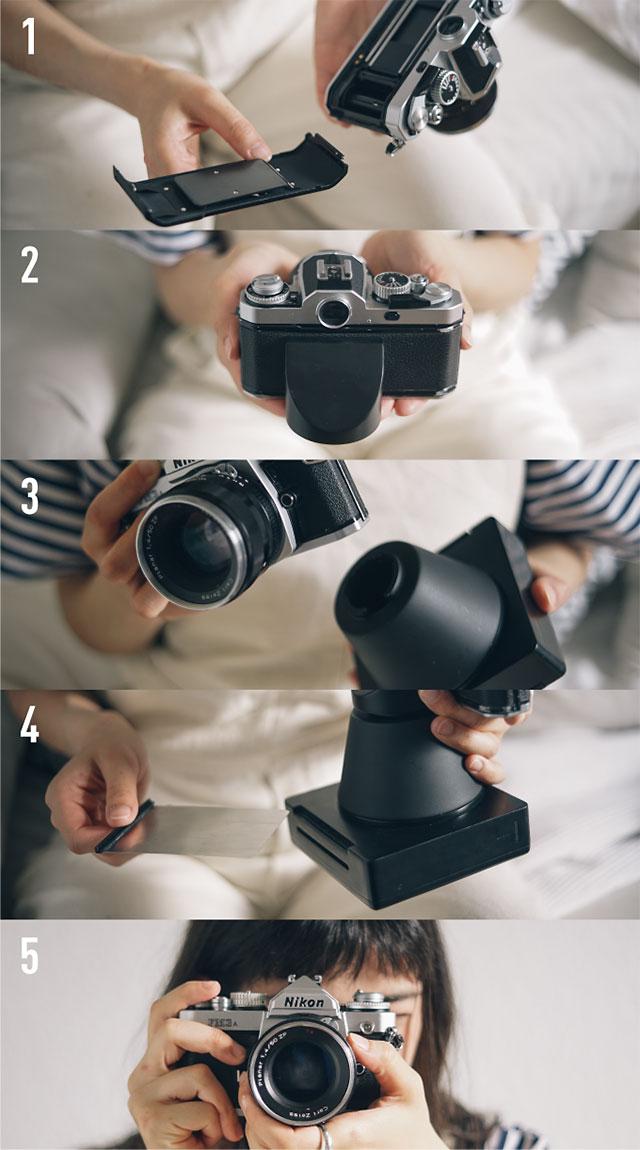 フィルムカメラをインスタントカメラにする「Instant Magny 35」