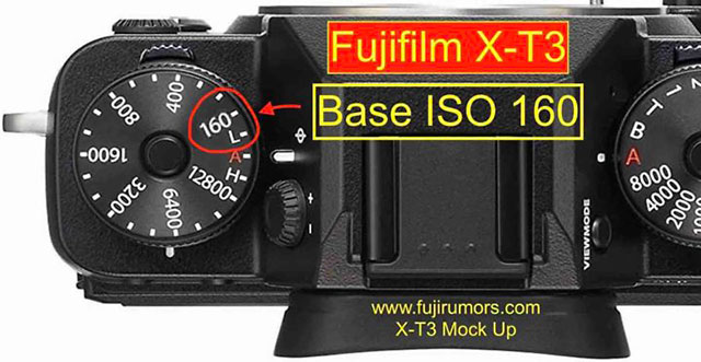 富士フイルムX-T3は、ベース感度がISO160になる!?