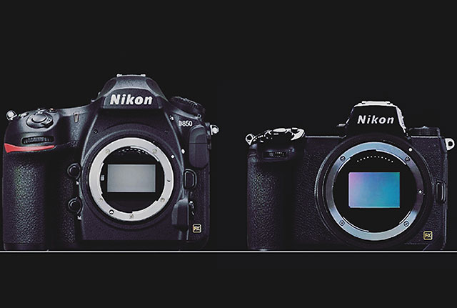 ニコンのフルサイズミラーレスとD850の比較