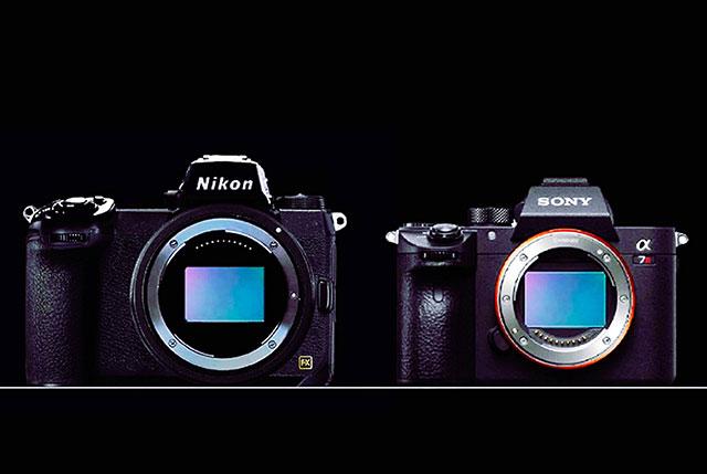 ニコンのフルサイズミラーレスとα7R IIIの比較