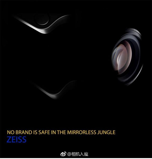 ツァイスのレンズ固定式フルサイズカメラ