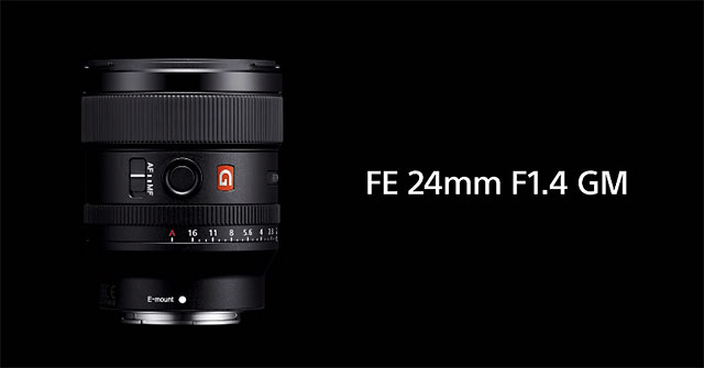 FE 24mm F1.4 GM