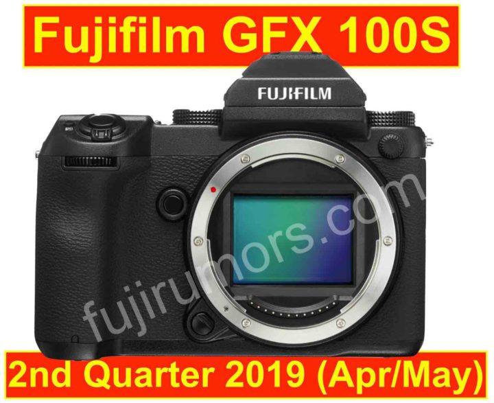 富士フイルム「GFX 100S」は、9月25日に開発発表され、2019年第2四半期に正式発表される!?