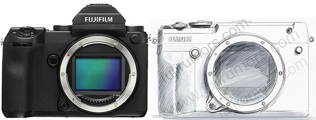 Fujifilm-GFX-50R-vs-Fujifilm-GFX-50S-Size-Comparison