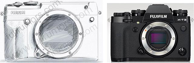 Fujifilm-GFX-50R-vs.-Fujifilm-X-T3-Size-Comparison