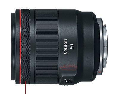 RF 50mm F1.2L USM