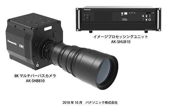 パナソニックが世界初の8K有機センサー搭載のカメラを開発発表。