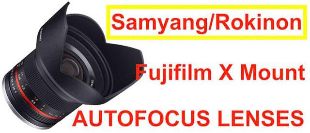 SAMYANGがXマウント用のオートフォーカスレンズを開発している!?