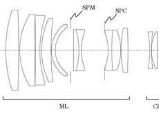 キヤノンがEOS MでEFレンズをフルサイズ撮影可能にするフォーカルレデューサーアダプターを開発している模様。