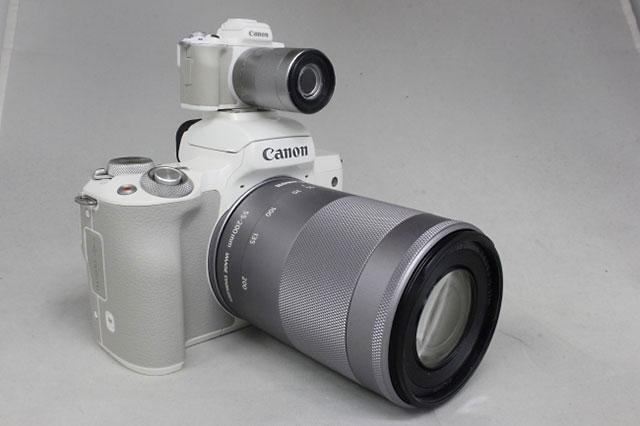 キヤノン監修「Canon EOS Kiss M フラッシュ&サウンド ミニコレクション。