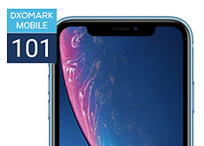 iPhone XRがDxOMarkでスコア101
