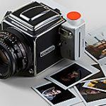 ハッセルブラッドとチェキが合体。インスタントカメラ「Hasselblad-Instax」