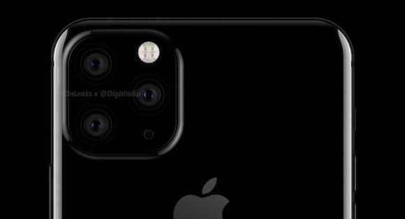 2019年登場のiPhoneは、トリプルカメラで正方形に配置される!?