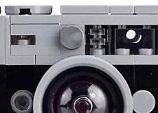 ライカ公式のレゴで組み立てるライカM「Toy Rangefinder Model Camera」