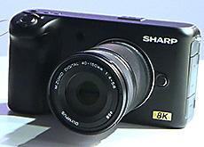 CESで発表されたシャープの8Kカメラ