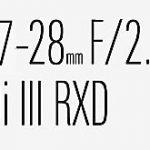タムロンがフルサイズEマウント用F2.8通し広角ズーム「17-28mm F/2.8 Di III RXD」を発表する!?