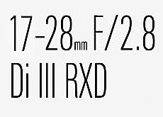 タムロンのフルサイズEマウント用F2.8通し広角ズーム「17-28mm F/2.8 Di III RXD」