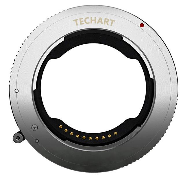 TECHART ニコンZでEマウントレンズをAFで使用可能にするマウントアダプター