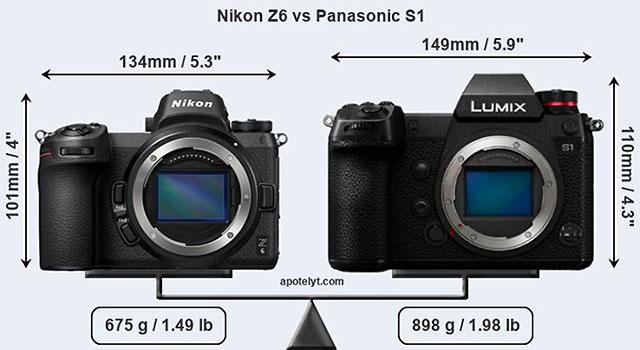 LUMIX S vs ニコン Z6