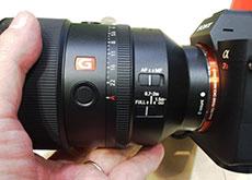 ソニー「FE 135mm F1.8 GM」
