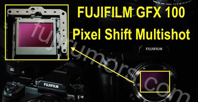富士フイルムGFX100は、ファームアップでピクセルシフトマルチ撮影へ対応する!?
