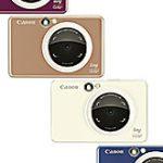 キヤノンからフォトプリンタ内蔵のインスタントカメラ「ZV-123」が登場する模様。