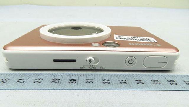 キヤノン インスタントカメラ「ZV-123」