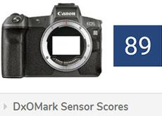 キヤノンEOS Rが、DxOMarkのセンサースコアに登場。EOS 5D Mark IVとほぼ同等。ソニーα7 IIIやニコン Z 6より若干下の模様。