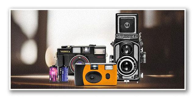 ヤシカ フィルムカメラ「YASHICA MF-1」「YASHICA MF-2」「YASHICA-44 TLR」