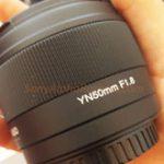 YONGNUOからEマウントAPS-C用の50mm F1.8 AFが登場する!?フルサイズ用も!?