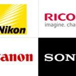 ニコン vs リコー vs キヤノン vs ソニー。ライバル社の製品へのコメント。