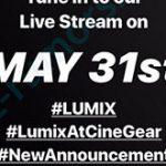 パナソニックがLUMIXシリーズのシネマカメラの発表を予告している模様。