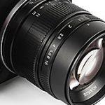 焦点工房がLマウントとEマウント用のAPS-Cレンズ「7Artisans 55mm F1.4」を発売。