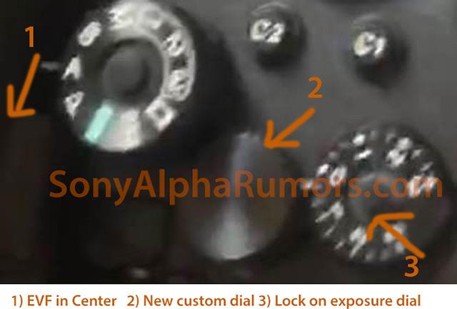 ソニーの新型カメラのリーク画像!?中央EVFのハイエンドモデル機になる!?
