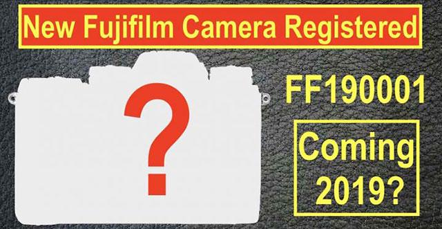 富士フイルムが認証機関に新しいコード名「FF190001」を登録。2019年にX-Pro3以外にもう一機種カメラを発表する!?