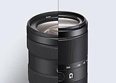 EマウントAPS-C対応Gレンズ「E 16-55mm F2.8 G」「E 70-350mm F4.5-6.3 G OSS」