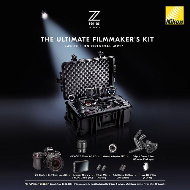 """NIKON Z SERIES PRESENTS """"THE ULTIMATE FILMMAKER'S KIT"""""""