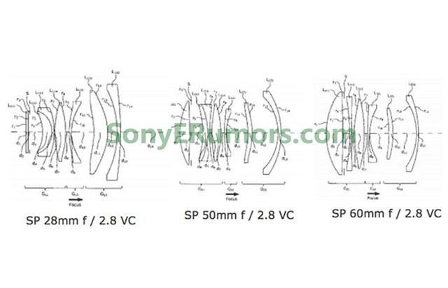 タムロンが予告した3本の単焦点レンズは、手ブレ補正付きの単焦点F2.8になる!?「SP 28mm F/2.8 VC」「SP 50mm F/2.8 VC」「SP 60mm F/2.8 VC」!?
