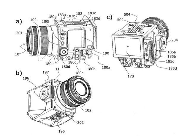 キヤノンのRFマウントのシネマカメラ