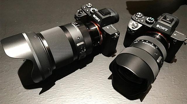 シグマは、ソニーフルサイズEマウント用FEレンズ「24-70mm F2.8」と「70-200mm F2.8」を発表する準備が完了している!?