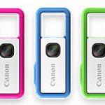 キヤノンが「IVY REC」(ソトアソビカメラ/アウトドアアクティビティカメラ)を海外で発売開始。