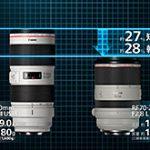 キヤノンが世界最短・最軽量のナナニッパ「RF70-200mm F2.8 L IS USM」と、DSレンズ「RF85mm F1.2 L USM DS」を正式発表