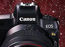 キヤノン天体撮影専用フルサイズミラーレス「EOS Ra」